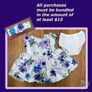 NWOT Children's Place dress. 3-6 mos.